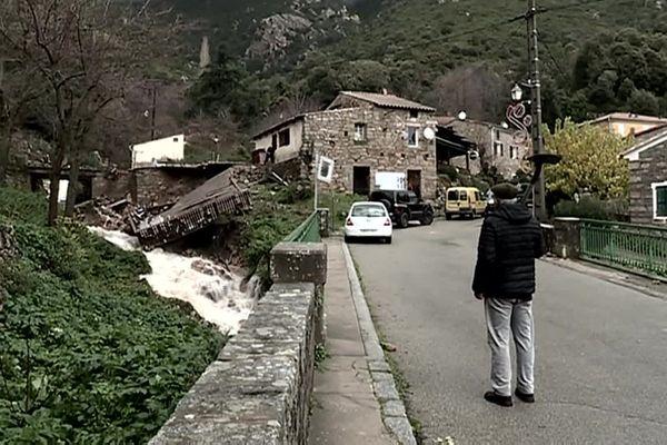 Le 20 décembre 2019, la tempête Fabien s'abat sur la Corse
