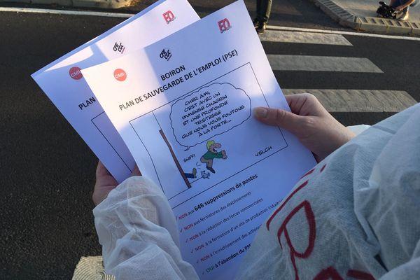 Pérols - Le plan social à Boiron est consécutif à l'annonce du déremboursement progressif de l'homéopathie - 16.09.20