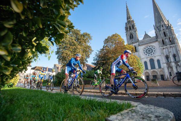 La course cycliste Paris-Tours a eu lieu le 11 octobre entre Chartres et Tours