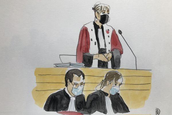 L'avocat général, Chantal Firmigier Michel et les avocats de la famille de Patricia Bouchon