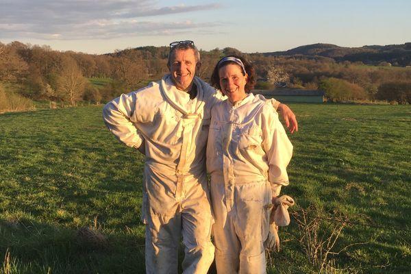 Catherine et Michel Blassel, apiculteurs en Creuse, hôtes de wwoofeurs depuis quatre ans