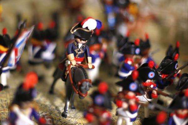 Frédéric Pierrot, entrepreneur du numérique, a fondé un micro-musée retraçant l'histoire de Napoléon en Playmobil en juillet 2016.