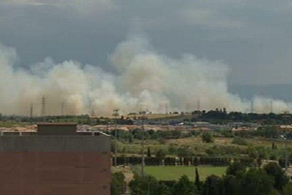 Les pompiers ont du à nouveau intervenir sur le secteur de Perpignan sud.