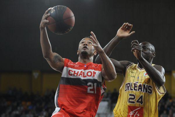 Antoine Mendy et les Orléanais ont concédé ce samedi soir leur première défaite à domicile cette saison contre Chalon.