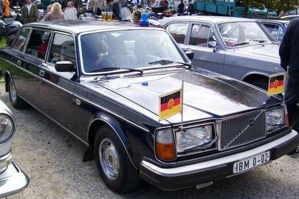 La Volvo d'Erich Honecker, président de la RDA entre 1976 et 1989, est aux enchères à partir de 4.000 euros