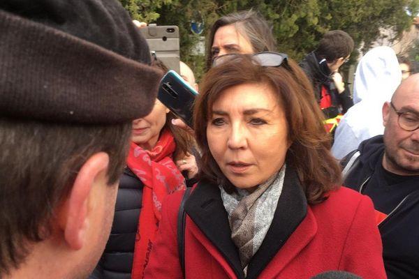Corinne Vignon, députée LREM de Haute-Garonne, était attendue à sa permanence, ce lundi 16 décembre 2019.