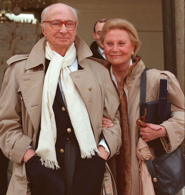 Gérard Oury et Michèle Morgan.