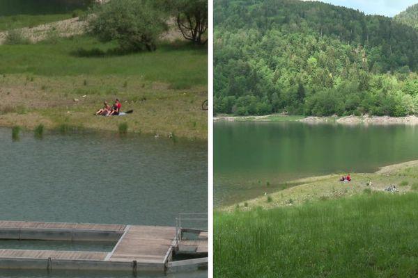 Dur, dur de résister à l'appel verdoyant des abords du lac de Kruth