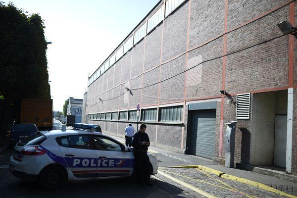 Des policiers à Pantin (Seine-Saint-Denis) en 2015.