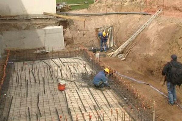 Les travaux ont débuté en 2009
