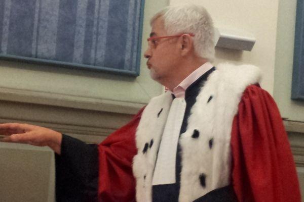 Perpignan - Pierre Denier, l'avocat général requiert - 25 octobre 2012.