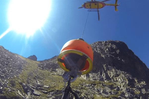 Dragon 64 est capable d'intervenir partout en montagne