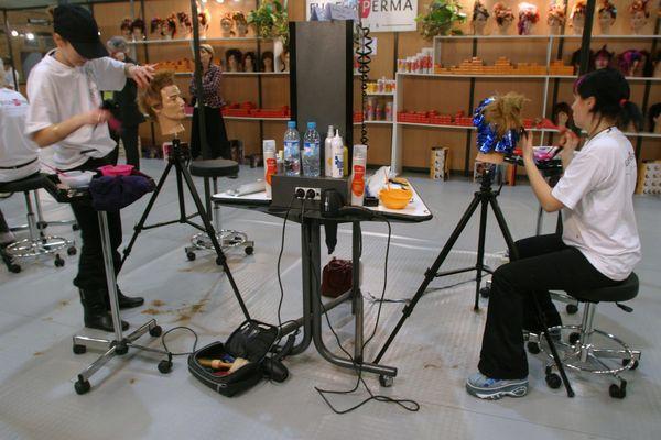 Formation professionnelle et apprentissage en coiffure, Nantes 2005