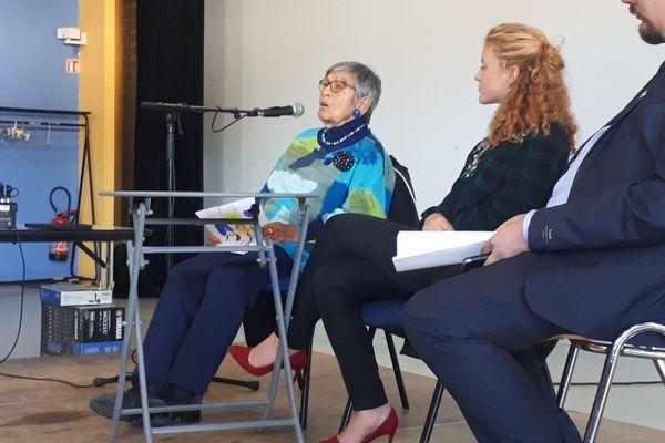 Ginette Kolinka, 94ans, s'est donné pour mission de raconter son expérience à Auschwitz-Birkenau pour éviter qu'un drame similaire se reproduise un jour.