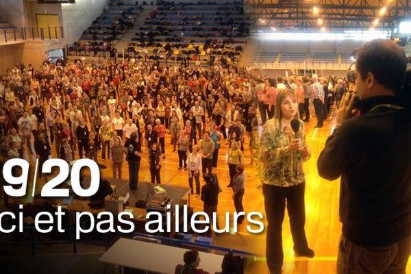 """Retrouvez ce lundi soir Tiphaine Le Roux à 19h15 pour """"ici et pas ailleurs"""", à l'occasion de nos pages spéciales consacrées au festival des Nuits de Champagne à Troyes, avec Tryo."""