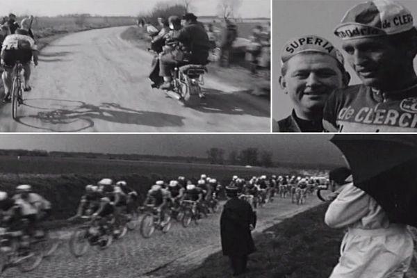 Des images de Paris-Roubaix 1969 remporté par Walter Godefroot