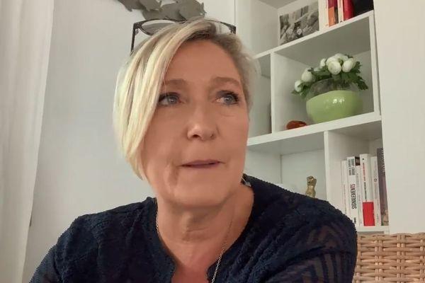Marine Le Pen en Facebook live ce lundi soir
