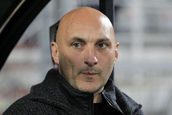 ILLUSTRATION L'entraîneur de l'ACA, Olivier Pantaloni.
