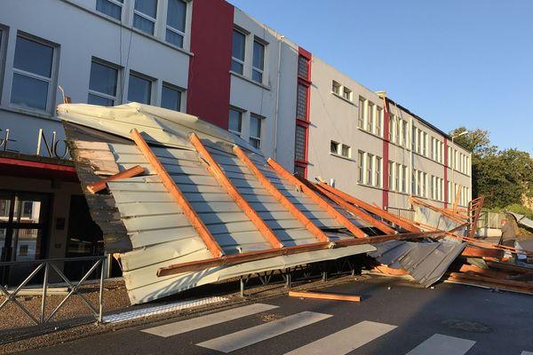 8 classes sont touchées par les dégâts occasionnés cette nuit