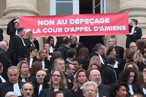 Les avocats picards ont peur de voir la cour d'appel d'Amiens amputée au profit de celles du Nord-Pas-de-Calais.