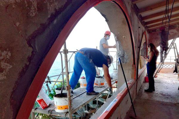 Ce chantier à Collioure aurait du être livré avant l'été.