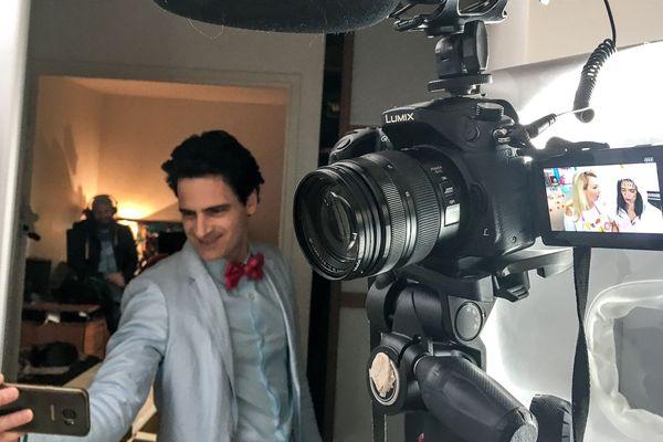"""""""Monsieur Love"""" en tournage"""