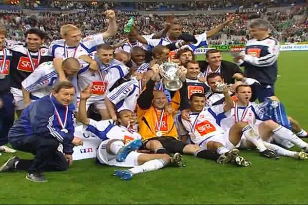 L'AJA remporte la Coupe de France 2005