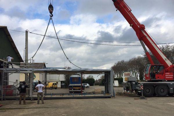 Des containers comme bureau à Carcassonne dans l'Aude, un nouveau concept qui séduit de plus en plus - 14 février 2019