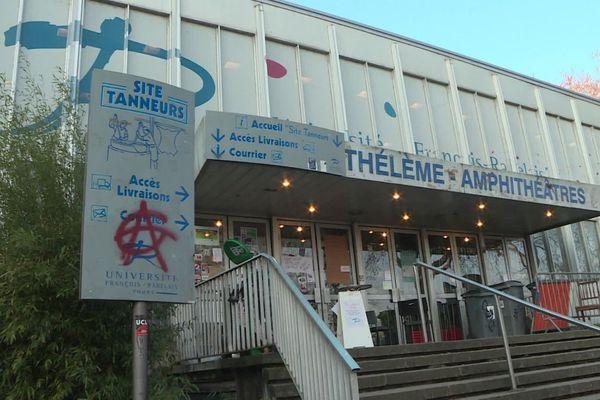 L'Université des Tanneurs comme toute l'Université François Rabelais est fermée depuis le 16 mars 2020.