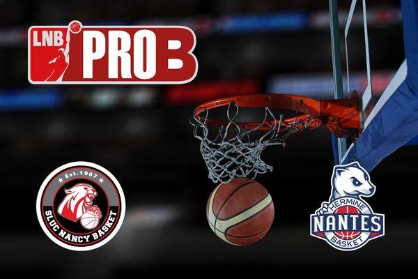 Le dimanche 21 mars à 15h45, suivez la rencontre de basket de Pro B : Nancy / Nantes en léger différé sur France 3 Pays de la Loire