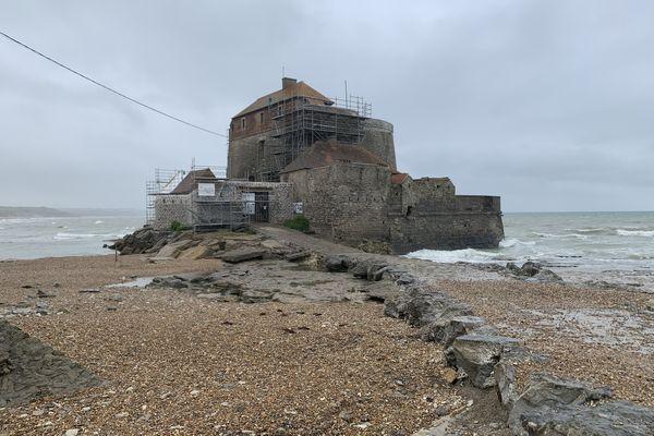 Le fort d'Ambleteuse vient d'achever ses travaux de réhabilitation démarrés en septembre 2020.