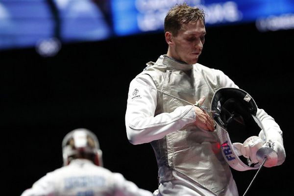Le Lensois Jérémy Cadot n'a pas réussi à s'imposer en finale avec le fleuret par équipe.