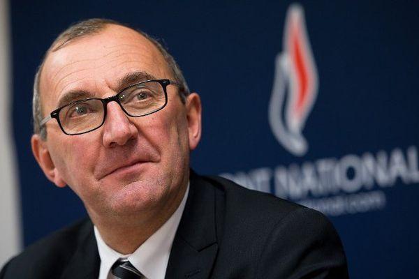 """Gilles Pennelle, tête de liste Front National """"Avec Marine Le Pen"""""""