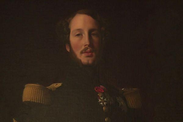 Le portrait de Ferdinand Philippe d'Orléans par Ingres, l'un de ses chefs-d'oeuvre.