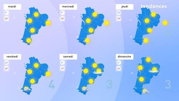 Le printemps, un peu mégalo, se prendra pour l'été jusqu'à jeudi.