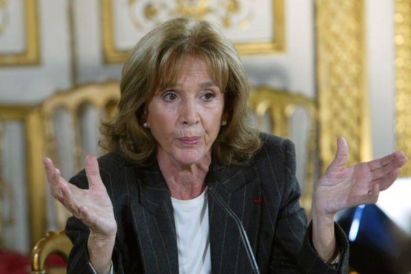 Gisèle Halimi, le 14 novembre 2003 à Paris. Infatigable combattante pour la cause des femmes et le droit à l'avortement, l'avocate, ancienne députée et autrice est décédée mardi, au lendemain de son 93e anniversaire.