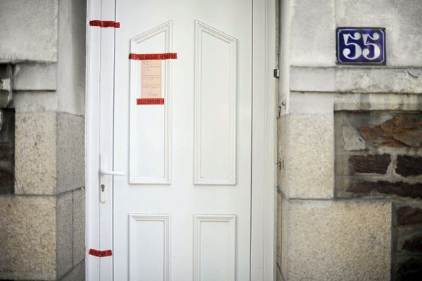 La maison des de Ligonnès au 55 bd Schuman à Nantes