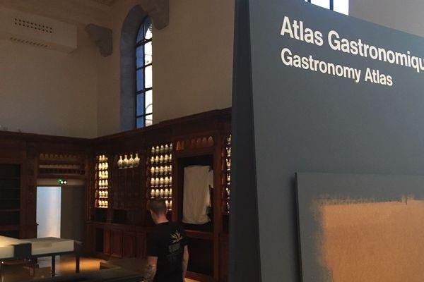 Les espaces d'exposition sont en cours d'installation au Grand Hôtel-Dieu de Lyon.