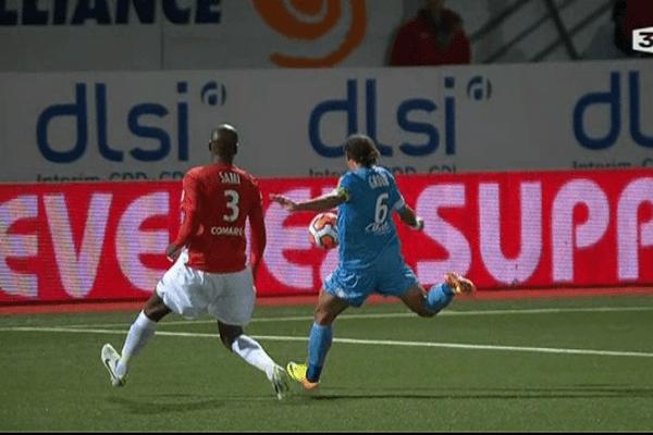 Bruno Grougi marque le but de la victoire pour Brest, à Nancy (0-1).