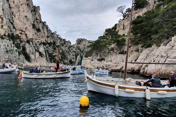 La Préfecture maritime dénonce la surfréquentation des calanques et les dommages qu'infligent les ancres des bateaux aux fonds marins