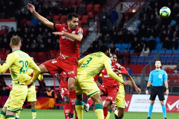Les dijonnais et nantais ont livré un match fou samedi soir, avec pas moins de six buts inscrits.