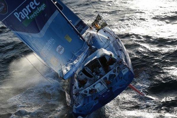 Virbac Paprec 3, le bateau de JP Dick