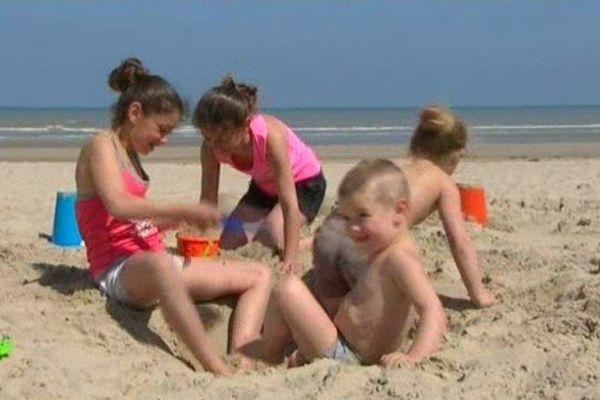 A la plage ce dimanche.
