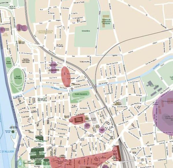 Le port du masque sera obligatoire à compter du 28 août dans les zones colorées.