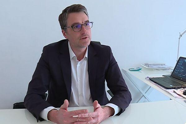 Le député girondin Florent Boudié en janvier 2019.