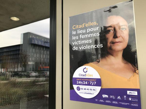 Citad'elles, lieu unique dédié aux femmes victimes de violence est situé au 8 bd Vincent Gâche à Nantes.