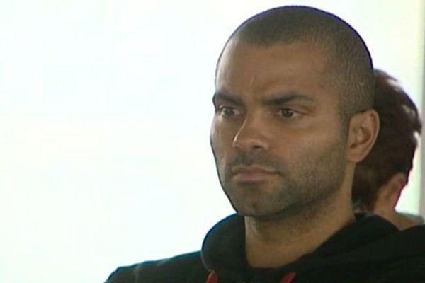 Tony Parker, leader de l'équipe de France de basket, est confiant à trois jours du début de l'Euro à Montpellier