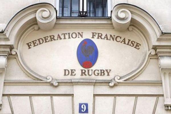 Le siège de la Fédération française de rugby - archives