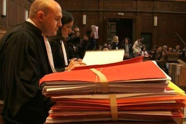 Les avocats des parties civiles au deuxième jour du procès de Morgan Blouet