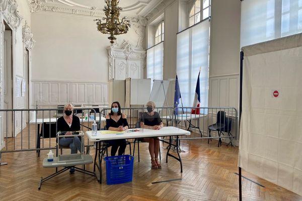 Présentation des bureaux de votes pour les élections du 20 et du 27 juin à Nancy